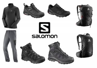 Πεζοπορήστε στο βουνό με Salomon!